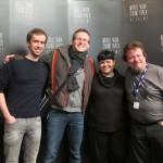 IFMCA members Bregt De Lange, Thor Joachim Haga, Eleni Mitsiaki and Olivier Debrosses.